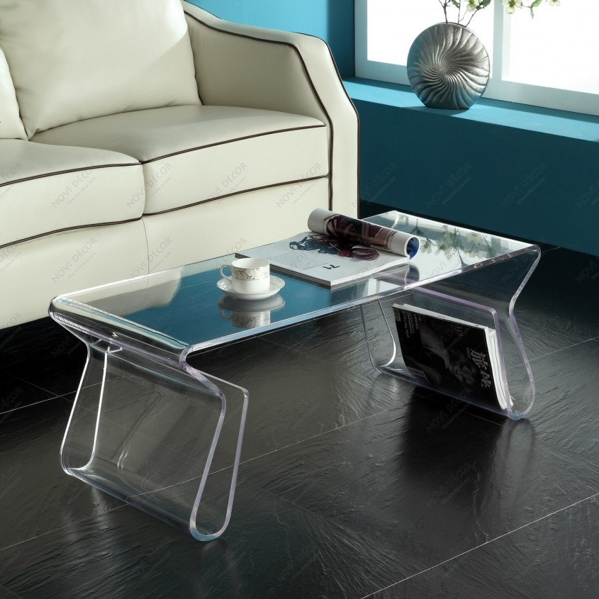 Amazing Acrylic Coffee Table For Home Furniture With Clear Acrylic Coffee Table