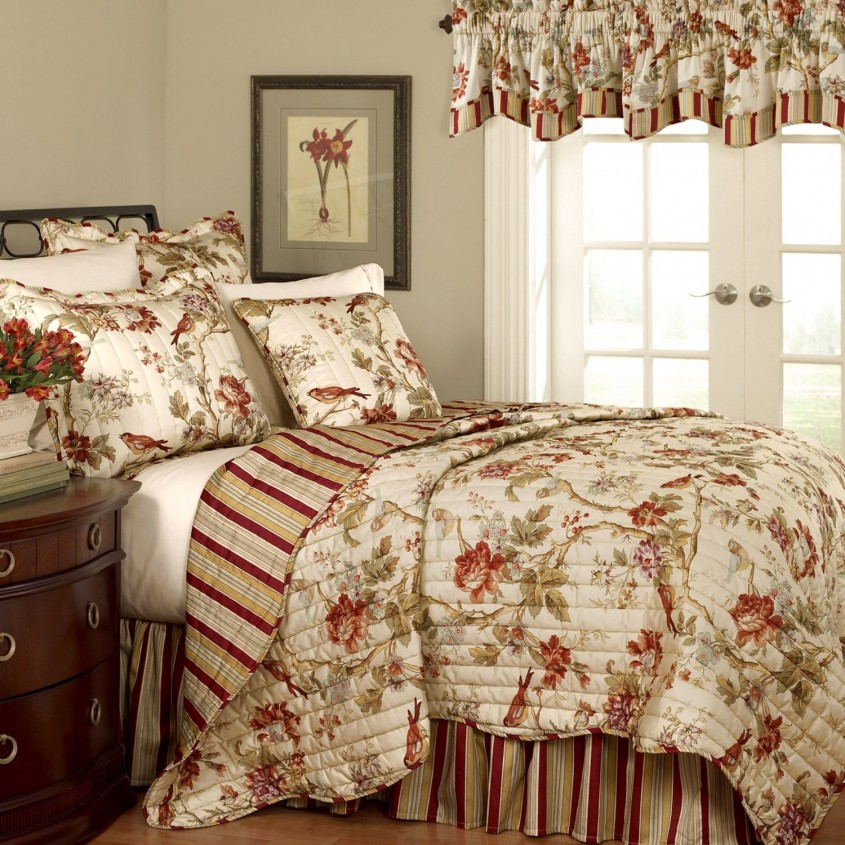 Amazing King Size Quilts For Modern Bedroom Design With King Size Quilt Dimensions