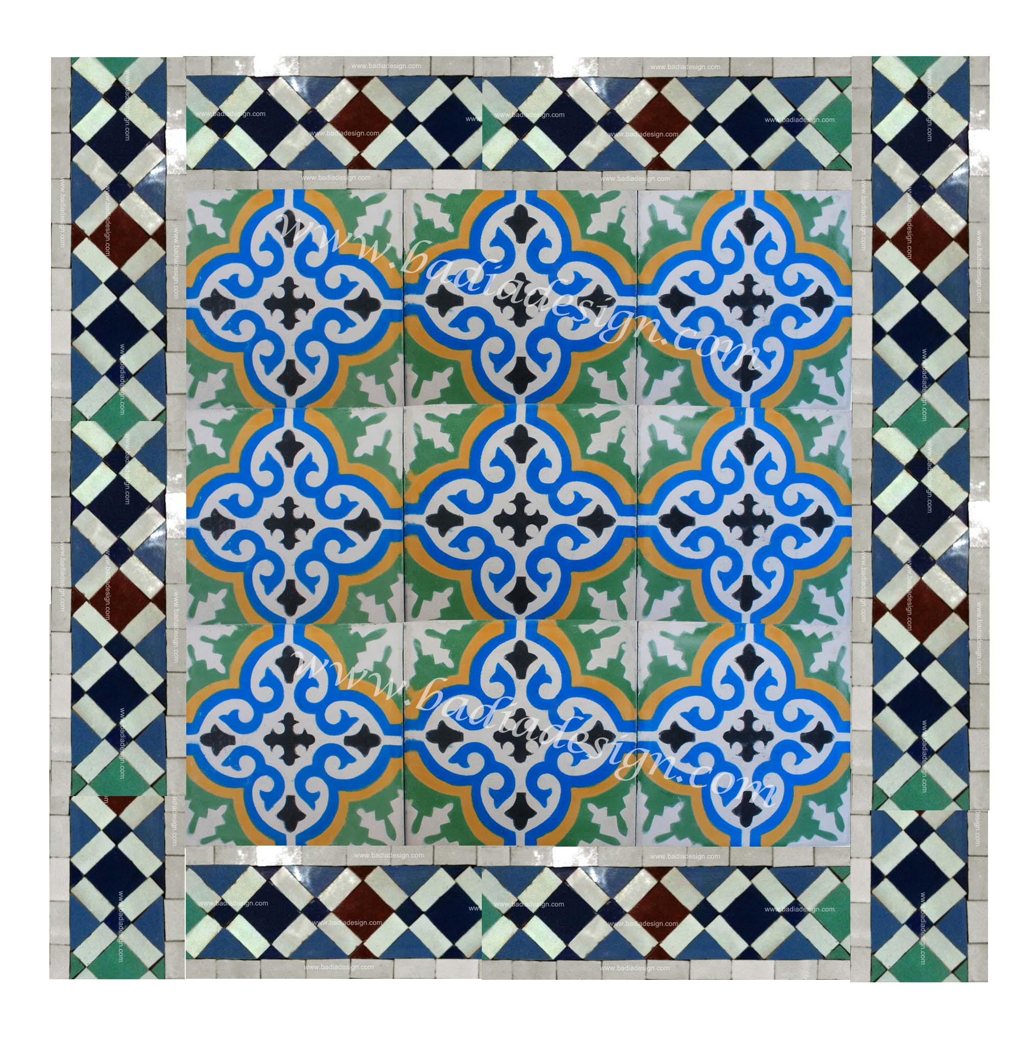 Amazing moroccan tile for floor decor ideas with moroccan tile backsplash
