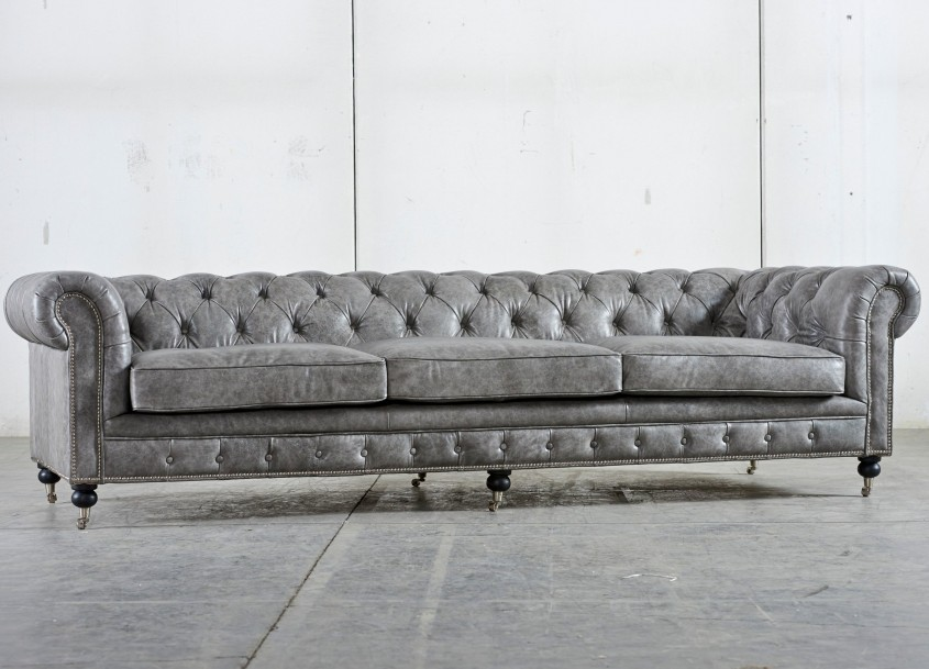 Amazing Tufted Leather Sofa For Living Room Design With Tufted Leather Sectional Sofa