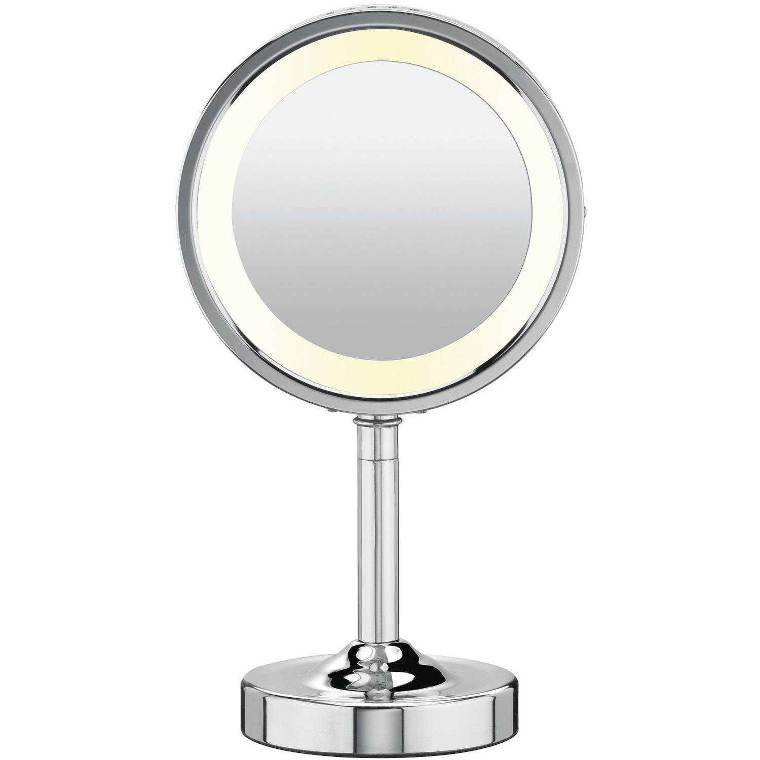 Attractive conair makeup mirror for furniture accessories ideas with conair double-sided lighted makeup mirror