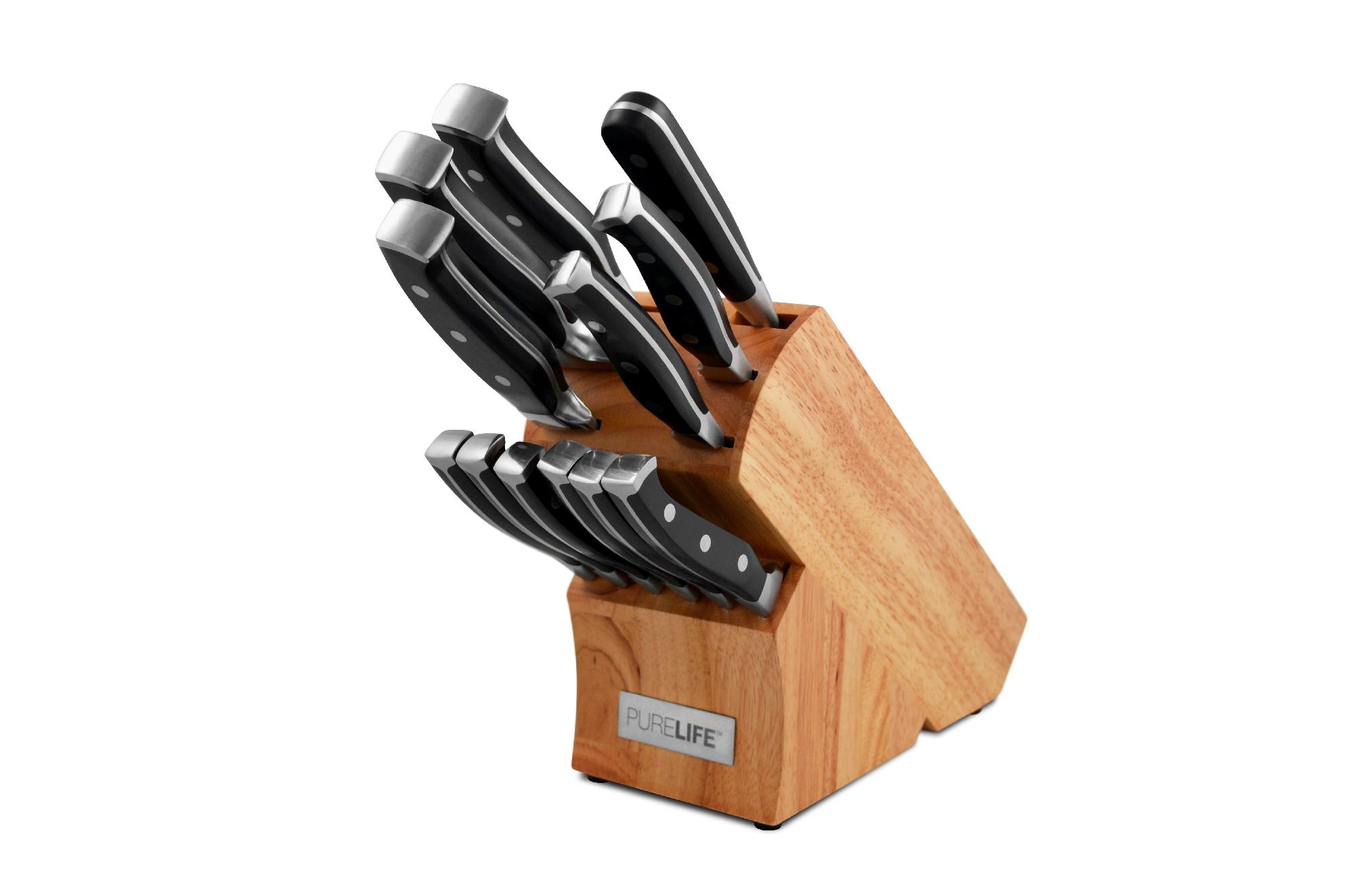 Attractive hampton forge knife set for kitchen with hampton forge cutlery set