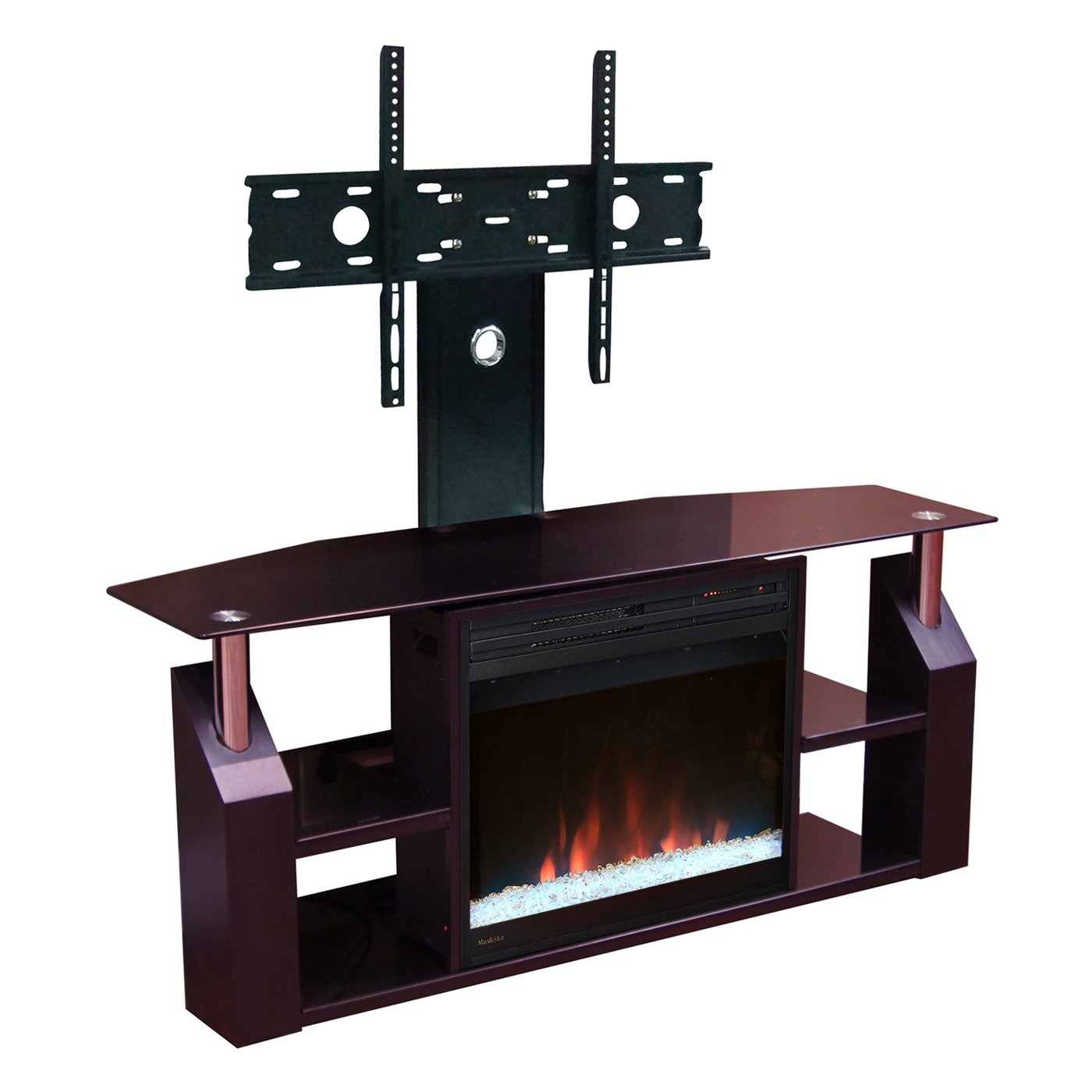 Attractive muskoka electric fireplace for home furniture with muskoka electric fireplace insert