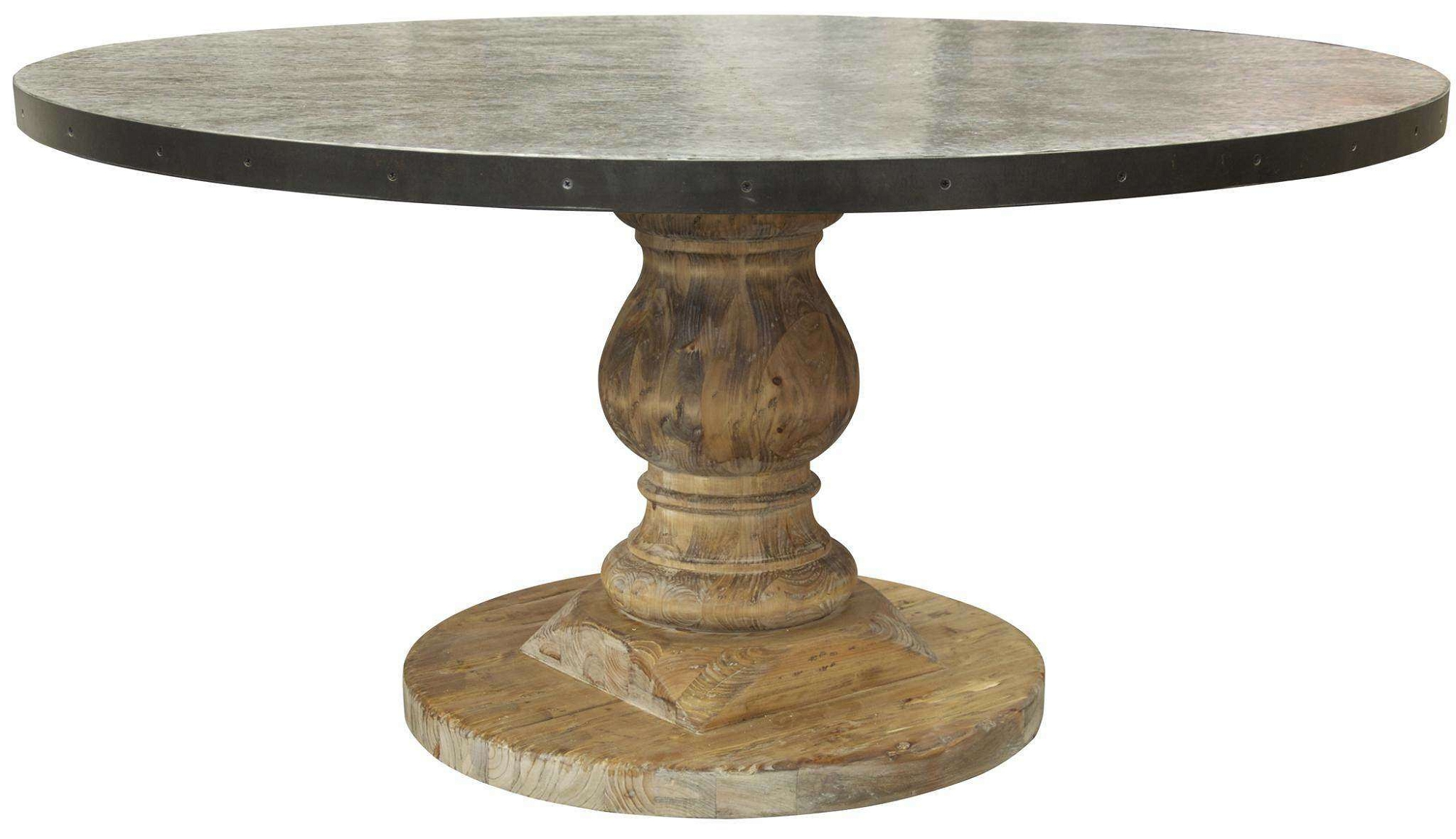 Attractive pedestal dining table for dining room with round pedestal dining table
