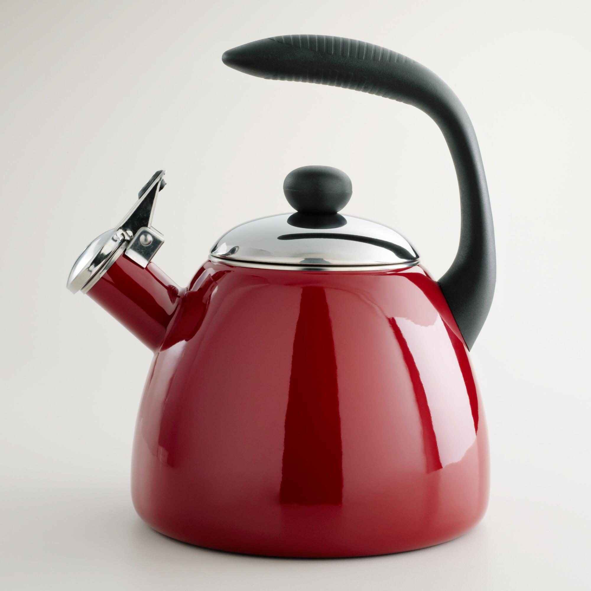 Attractive tea kettles for kitchen and dining room with copper tea kettle