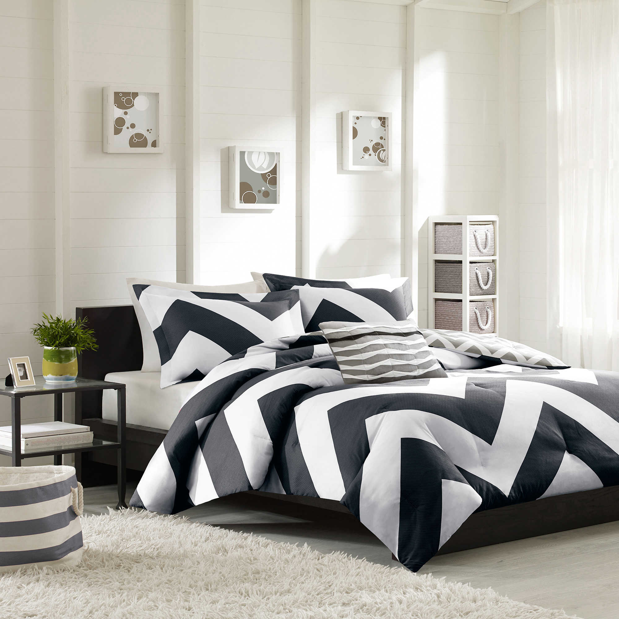 Attractive white comforter sets for charming bedroom ideas with white comforter sets queen