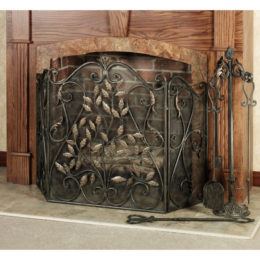 Awesome Fireplace Screen For Home Furniture With Decorative Fireplace Screens