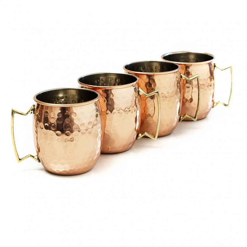 Awesome Hammered Copper Mugs For Unique Furniture With Hammered Copper Moscow Mule Mugs