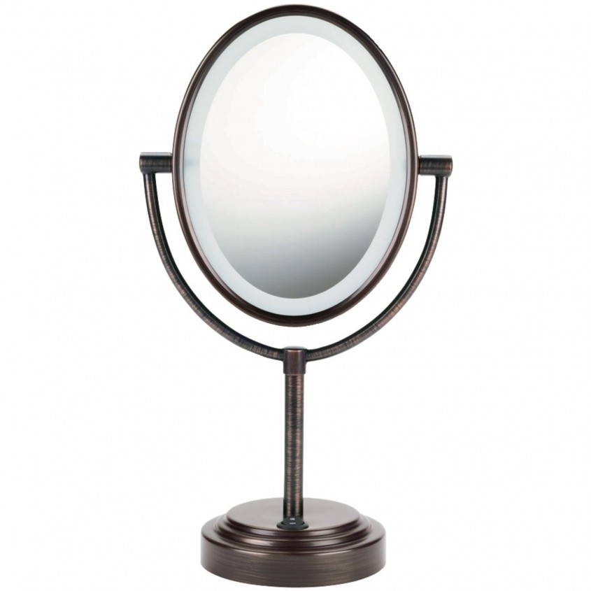 Beautiful Conair Makeup Mirror For Furniture Accessories Ideas With Conair Double Sided Lighted Makeup Mirror