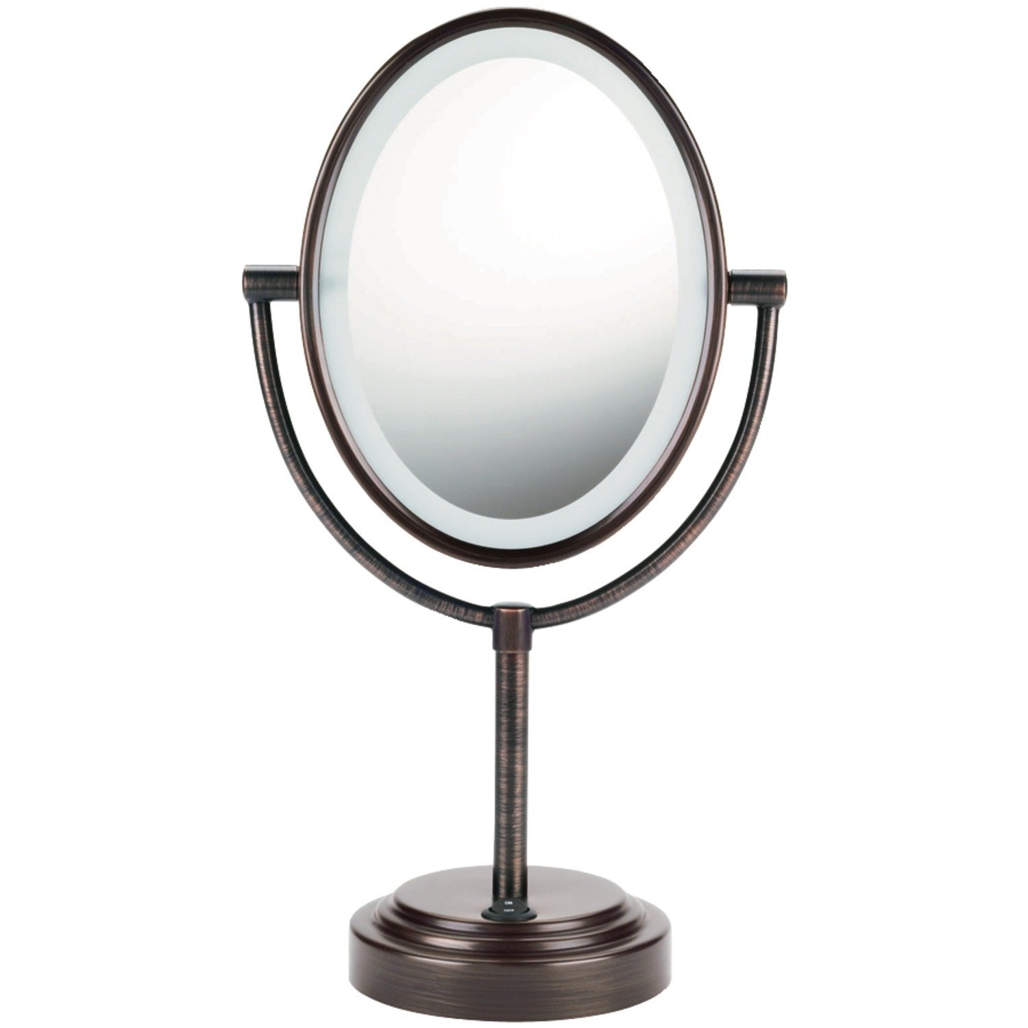 Beautiful conair makeup mirror for furniture accessories ideas with conair double-sided lighted makeup mirror