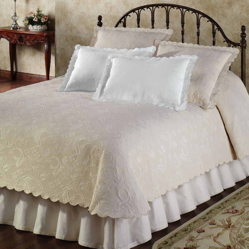 Beautiful Coverlets For Fantastic Bedroom Ideas With Matelasse Coverlet