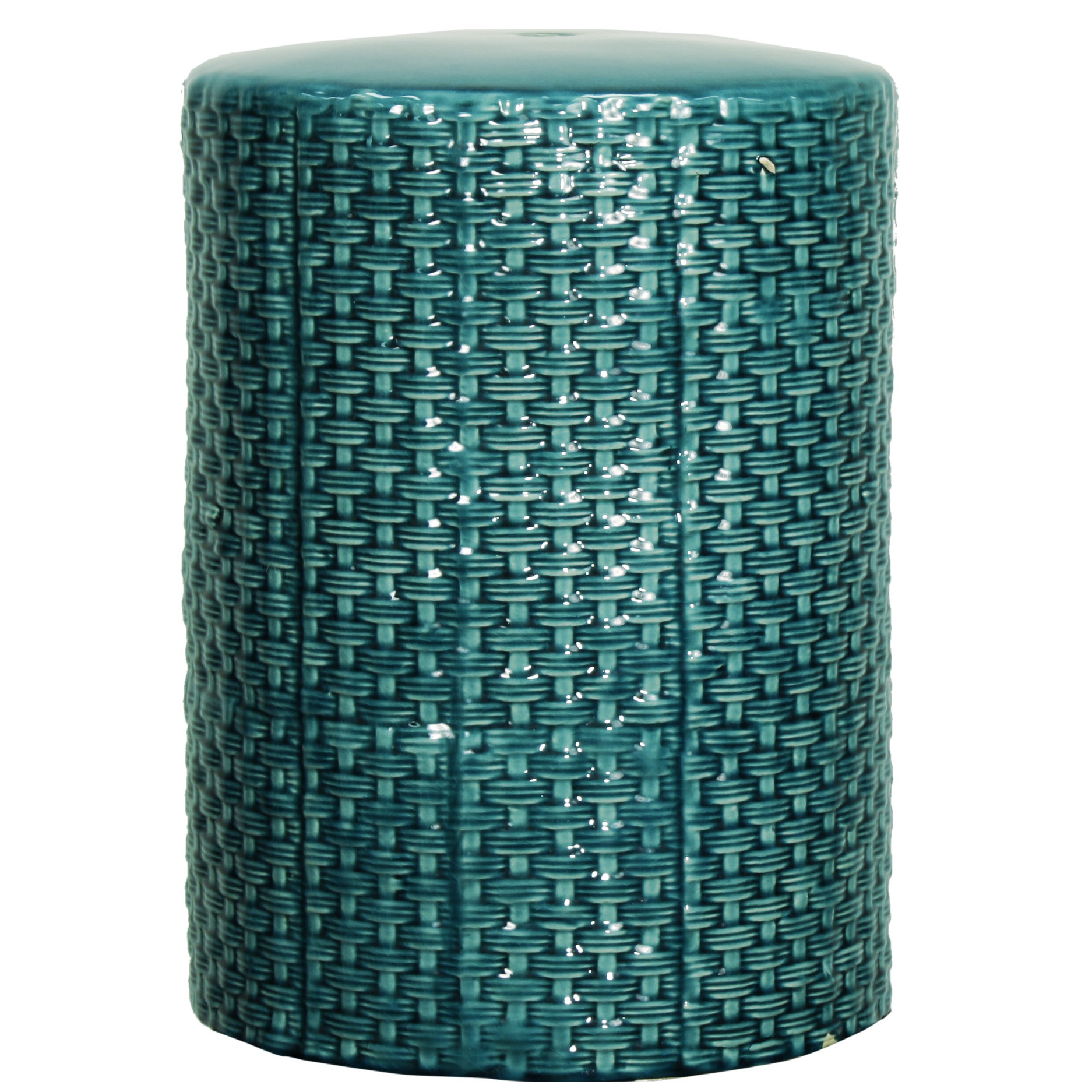 Beautiful garden stool for decorating interior ideas with ceramic garden stool