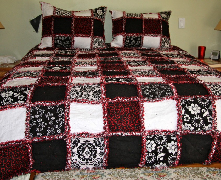 Beautiful King Size Quilts For Modern Bedroom Design With King Size Quilt Dimensions