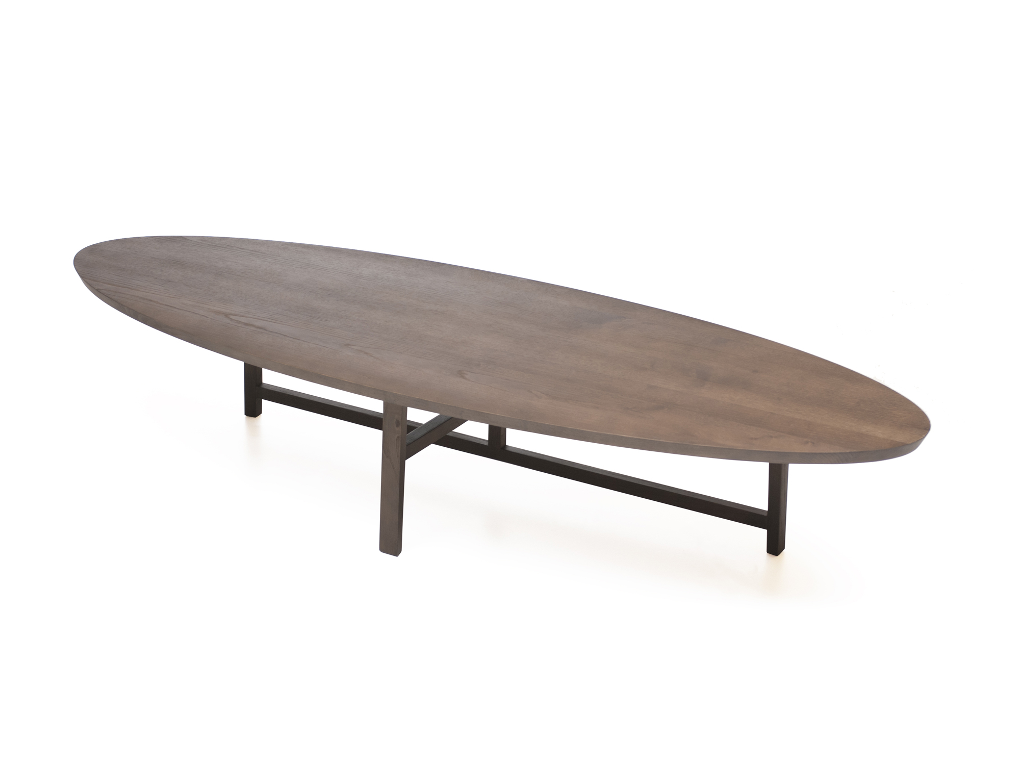 Beautiful oval coffee table for home furniture with oval wood coffee table