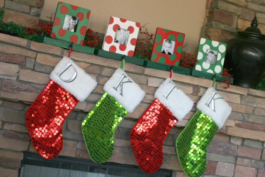 Beautiful Stocking Holder For Interior Decor Ideas With Christmas Stocking Holders