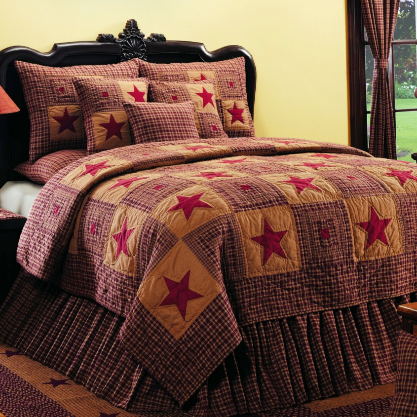 Best King Size Quilts For Modern Bedroom Design With King Size Quilt Dimensions