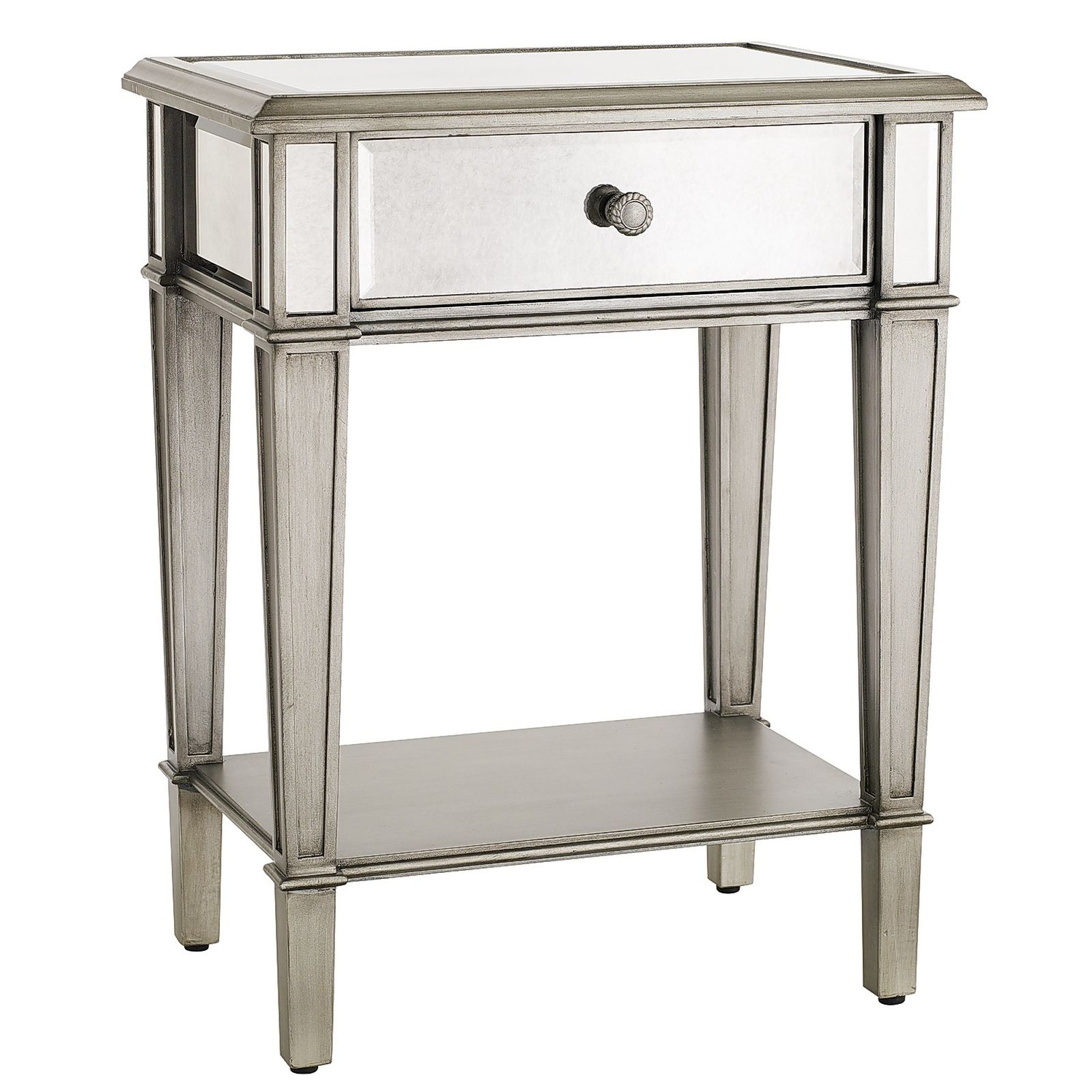Best mirror nightstand for bedroom furniture with mirrored nightstand