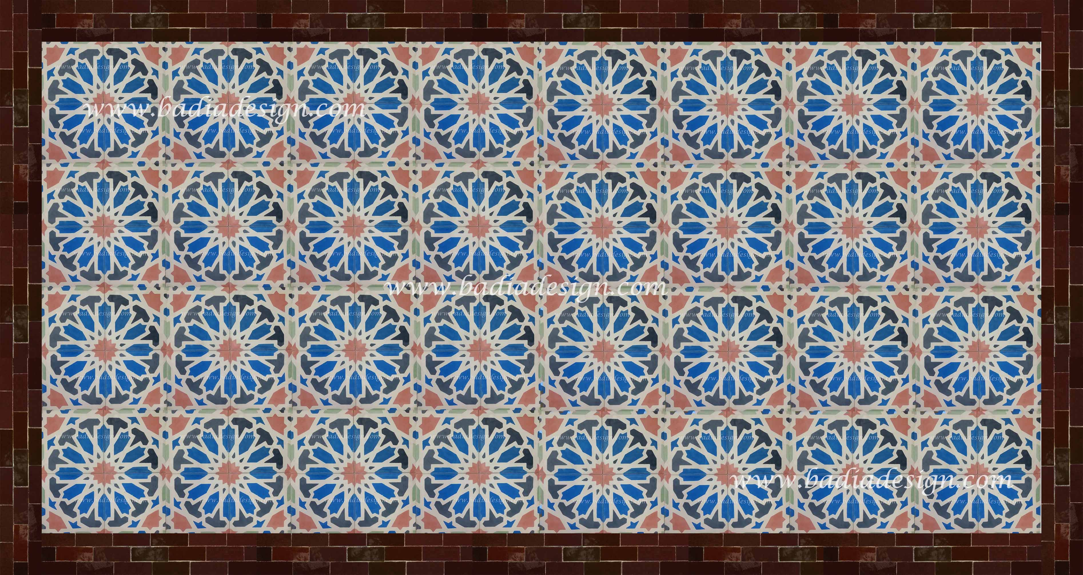 Best moroccan tile for floor decor ideas with moroccan tile backsplash