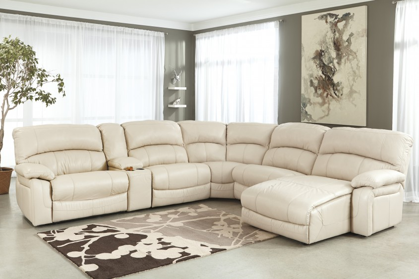 Best White Leather Sectional  For Small Spaces Living Room With White Leather Sectional Sofa