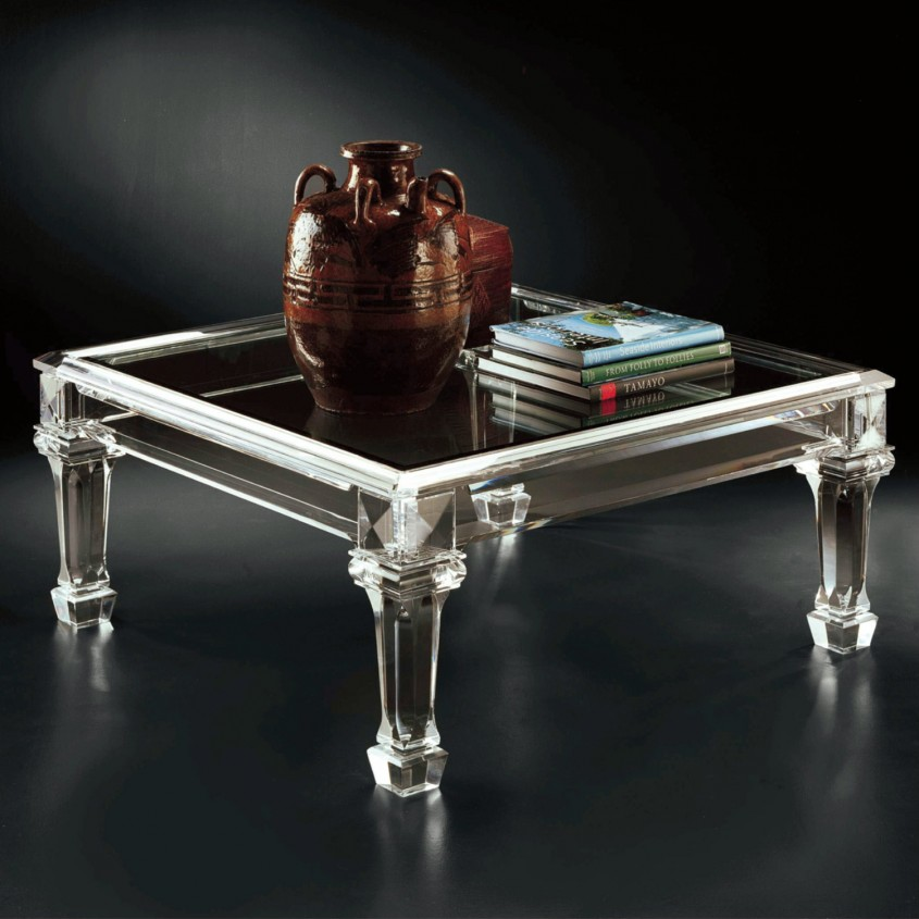 Breathtaking Acrylic Coffee Table For Home Furniture With Clear Acrylic Coffee Table