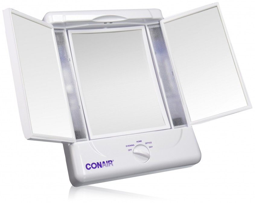 Breathtaking Conair Makeup Mirror For Furniture Accessories Ideas With Conair Double Sided Lighted Makeup Mirror