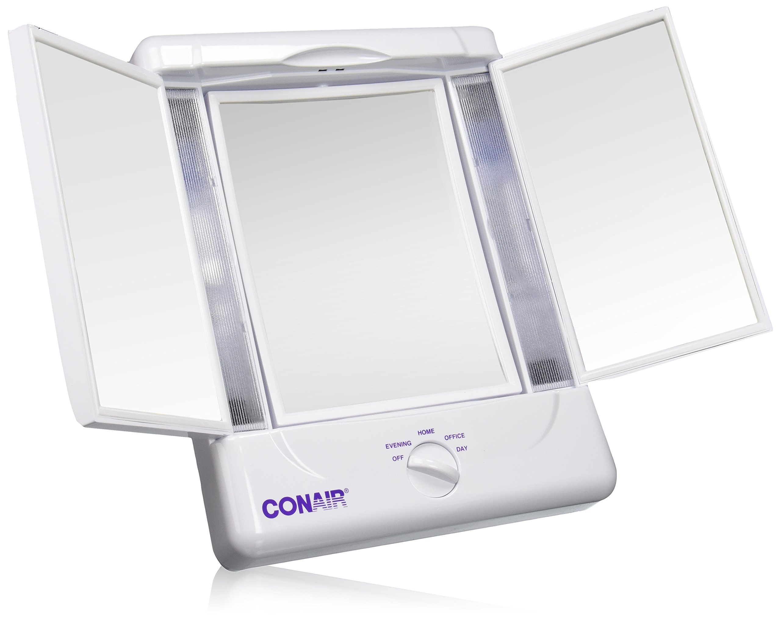 Breathtaking conair makeup mirror for furniture accessories ideas with conair double-sided lighted makeup mirror
