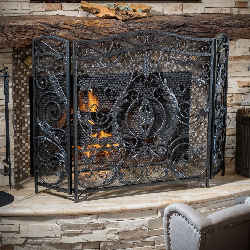 Breathtaking Fireplace Screen For Home Furniture With Decorative Fireplace Screens