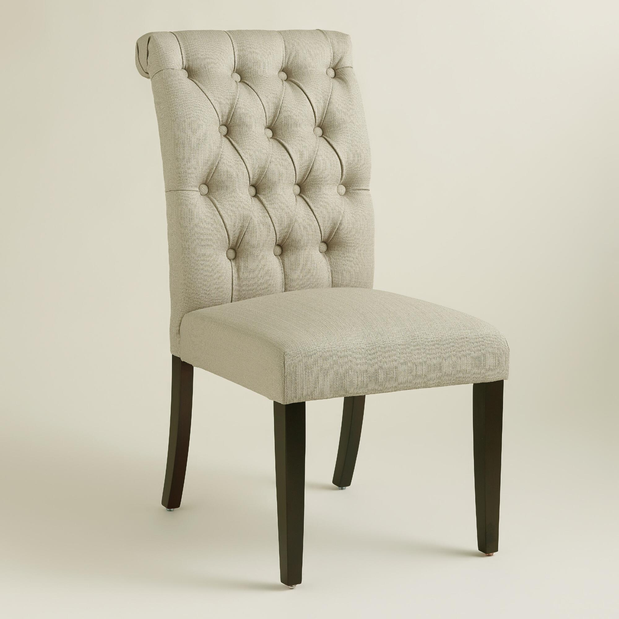 Breathtaking Upholstered Dining Chairs For Room With