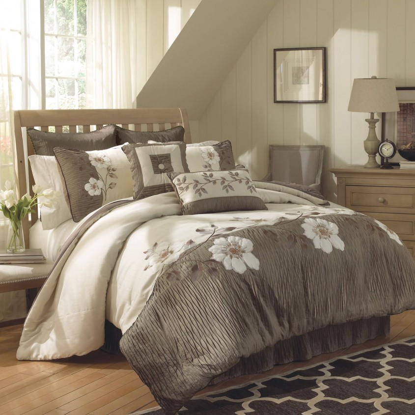 Brilliant California King Bedding For Bedroom Design With California King Bed Frame