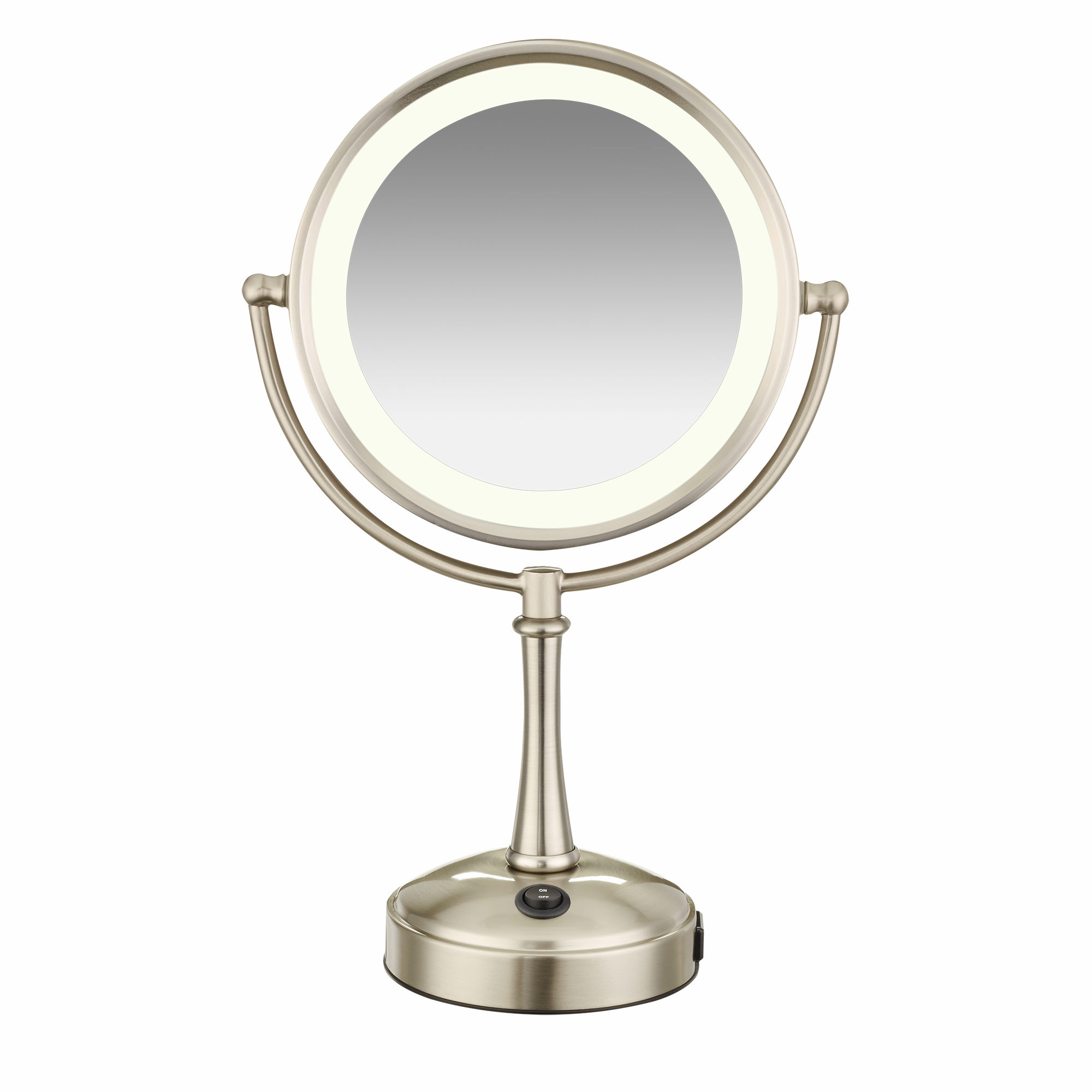Brilliant conair makeup mirror for furniture accessories ideas with conair double-sided lighted makeup mirror