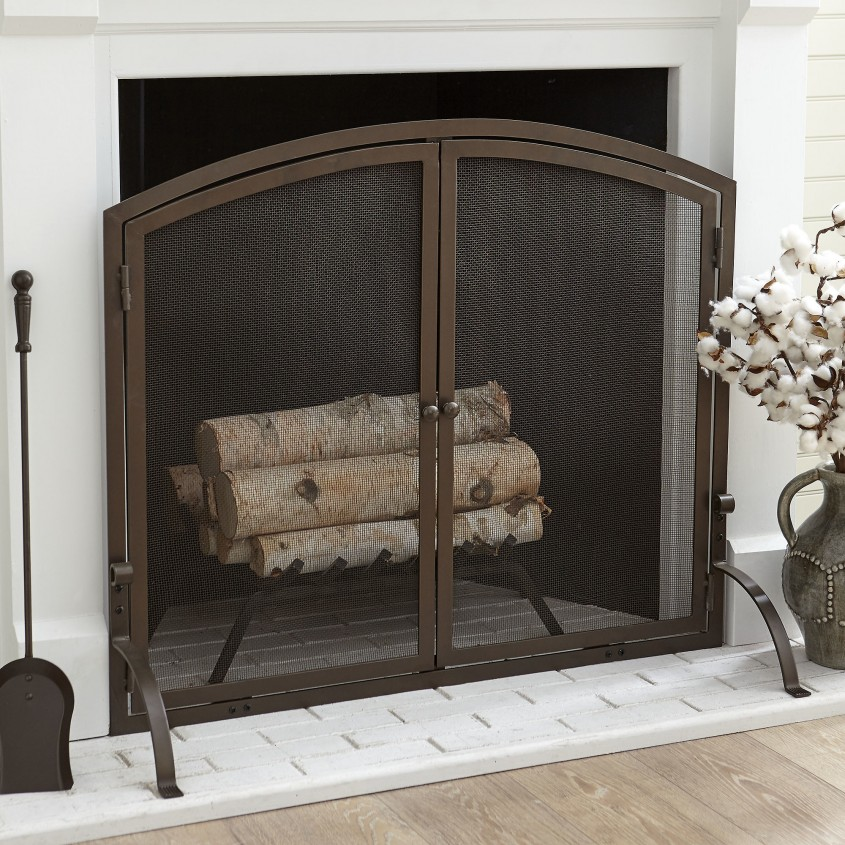 Brilliant Fireplace Screen For Home Furniture With Decorative Fireplace Screens
