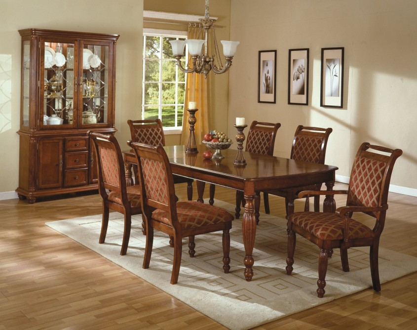 Brilliant Formal Dining Room Sets With Buffet And Ceiling Light For Home Design With Modern Formal Dining Room Sets