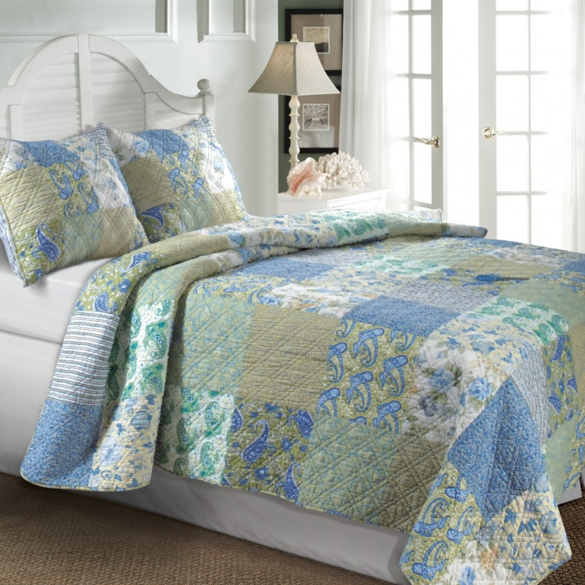 Brilliant King Size Quilts For Modern Bedroom Design With King Size Quilt Dimensions