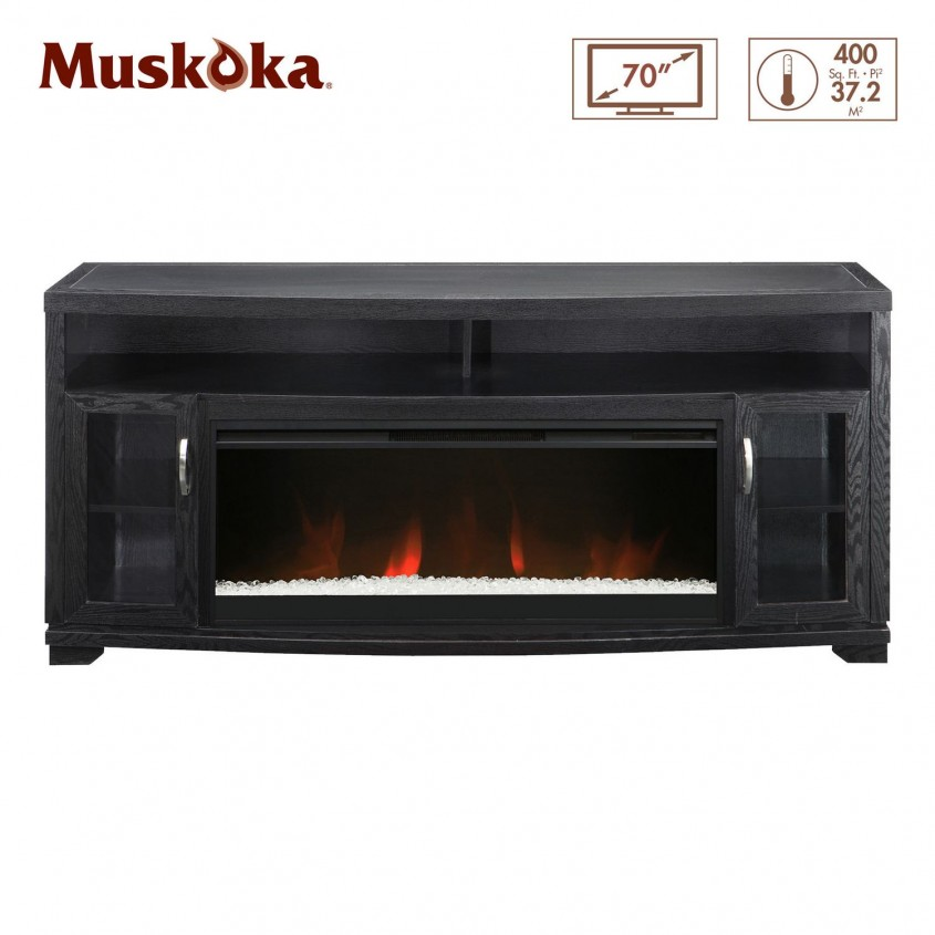 Brilliant Muskoka Electric Fireplace For Home Furniture With Muskoka Electric Fireplace Insert