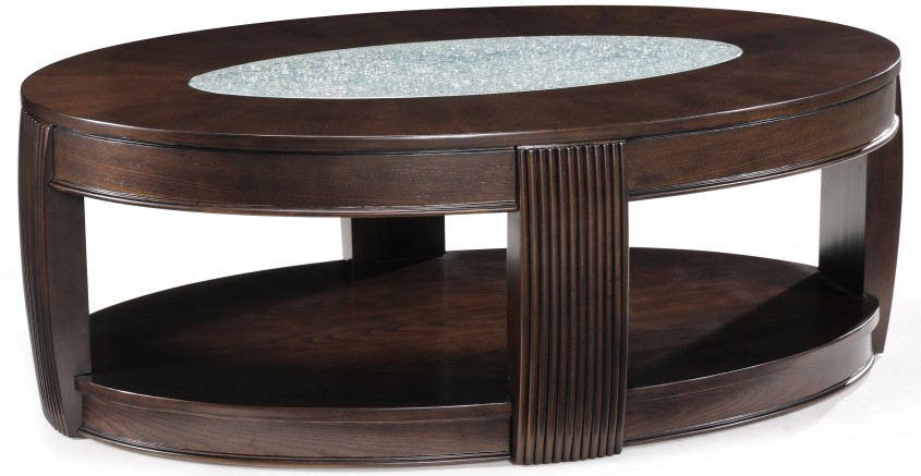 Brilliant Oval Coffee Table For Home Furniture With Oval Wood Coffee Table