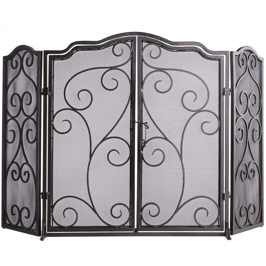 Captivating Fireplace Screen For Home Furniture With Decorative Fireplace Screens