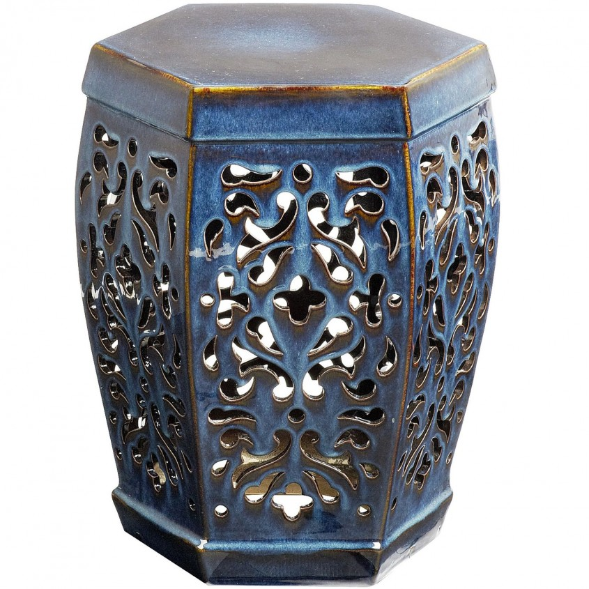 Captivating Garden Stool For Decorating Interior Ideas With Ceramic Garden Stool