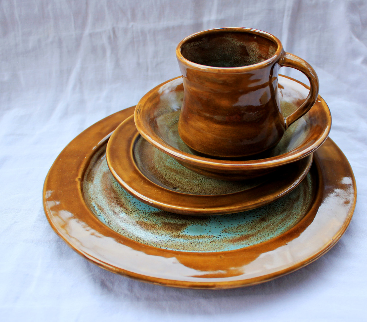 Kitchen & Dining Sets: Captivating Stoneware Dinnerware For Kitchen ...