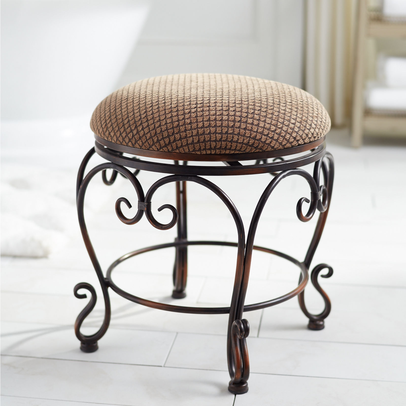 Captivating vanity stools for home furniture with vanity stool ikea