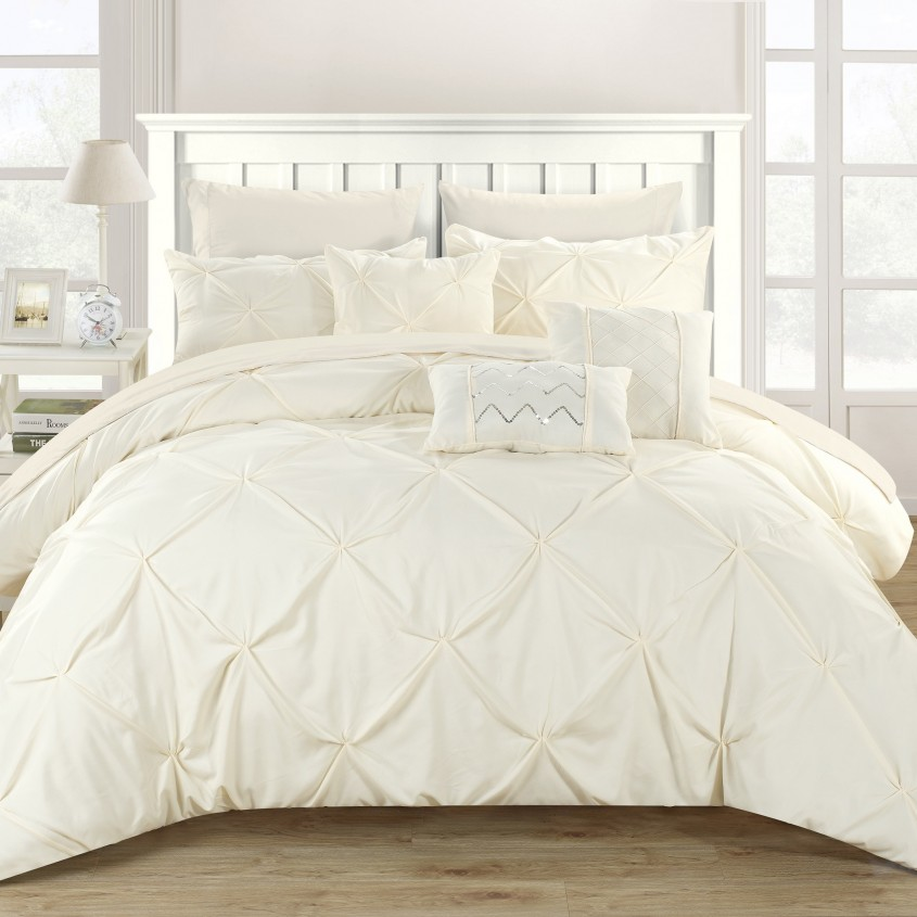 Captivating White Comforter Sets For Charming Bedroom Ideas With White Comforter Sets Queen