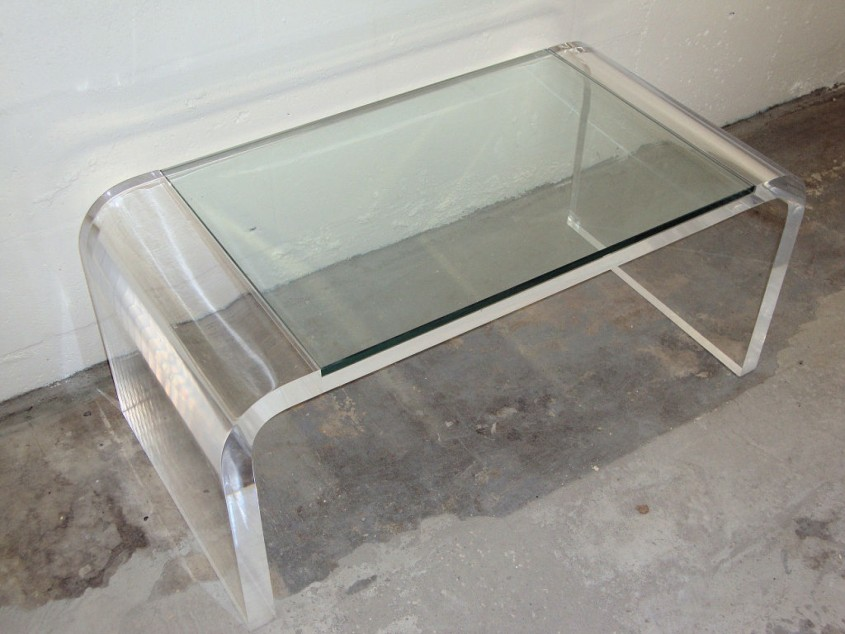 Charming Acrylic Coffee Table For Home Furniture With Clear Acrylic Coffee Table