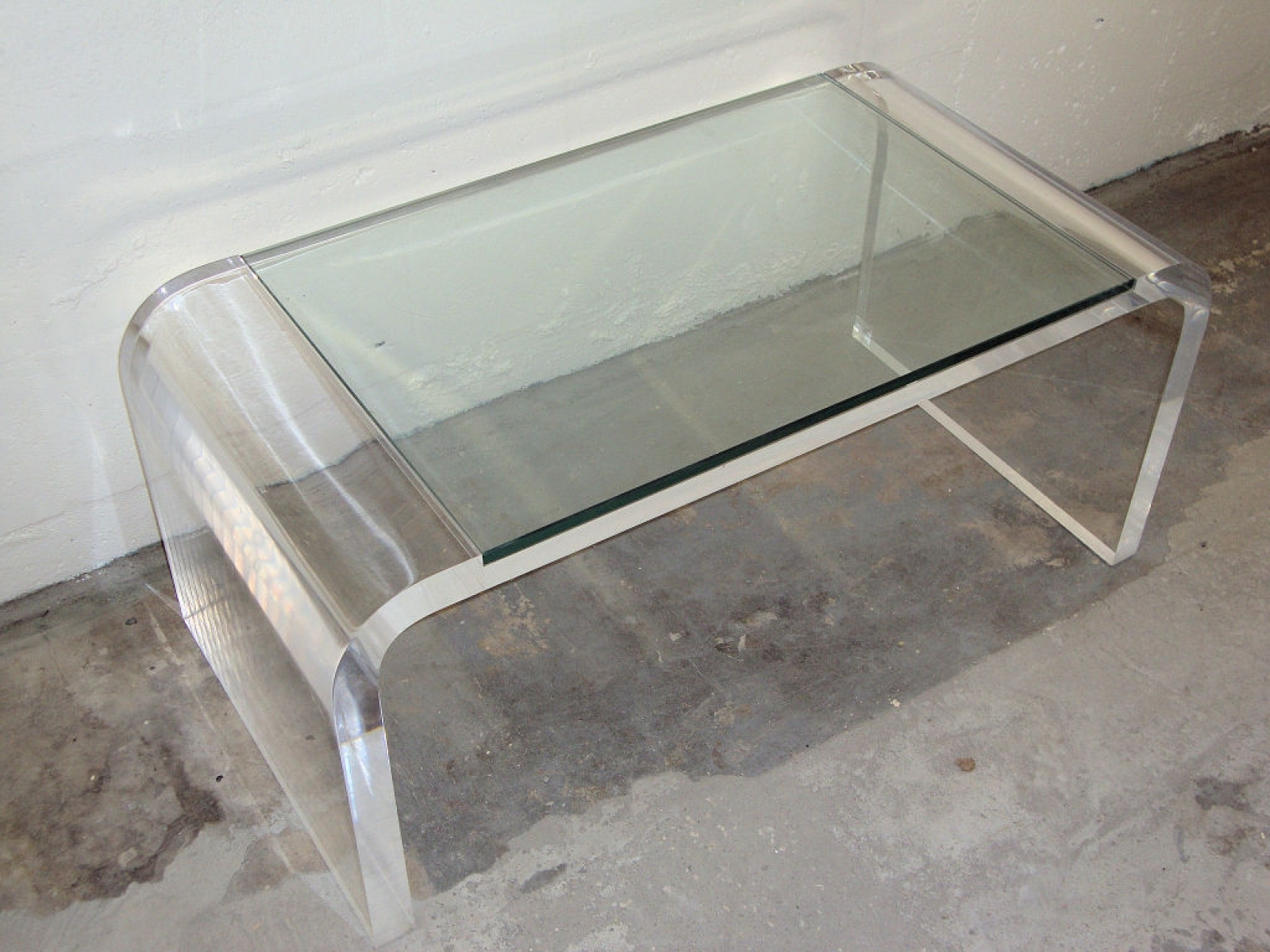 Living Room Design Charming Acrylic Coffee Table For Home Furniture