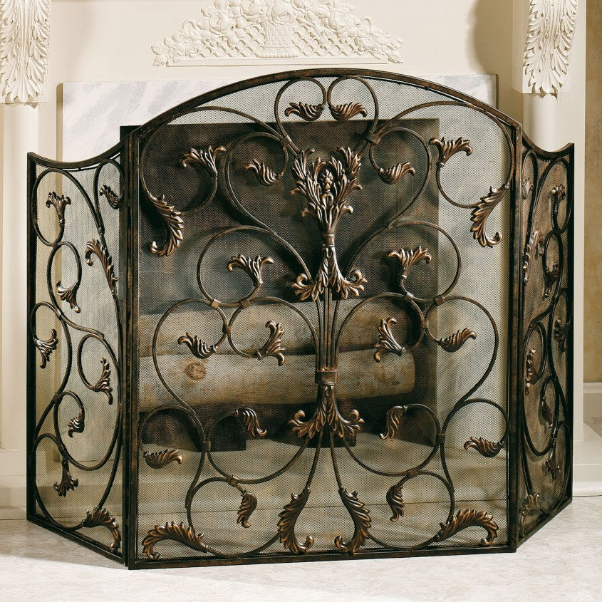 Charming Fireplace Screen For Home Furniture With Decorative Fireplace Screens