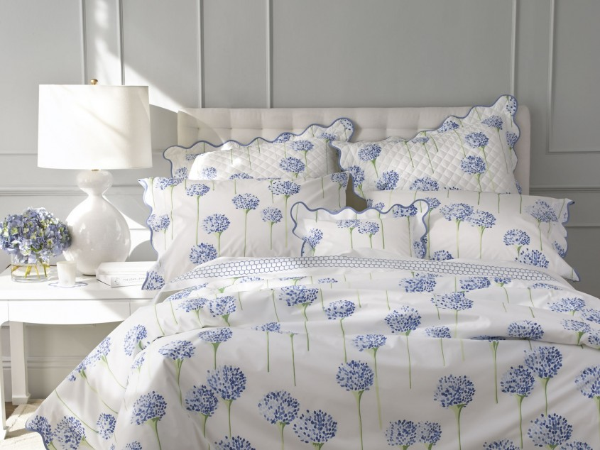 Charming Matouk Sheets With Pillows And White Shade Table Lamp For Bedroom With Matouk Sheets Sale