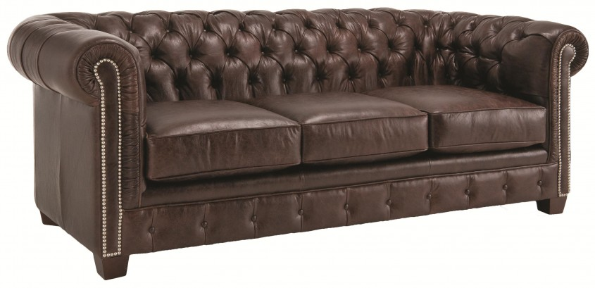 Charming Tufted Leather Sofa For Living Room Design With Tufted Leather Sectional Sofa