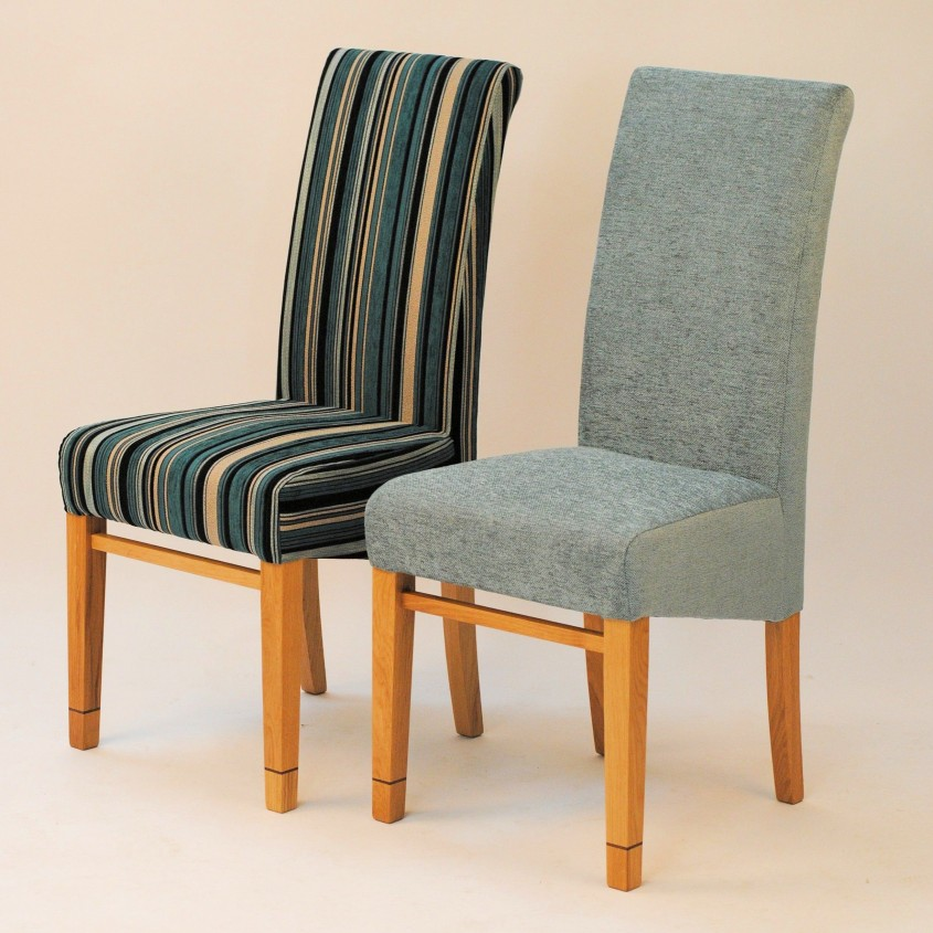 Charming Upholstered Dining Chairs For Dining Room With Upholstered Dining Room Chairs