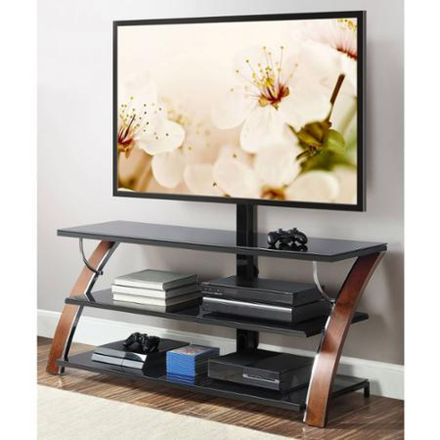 Charming whalen tv stand for furniture accessories design with whalen 3-in-1 tv stand