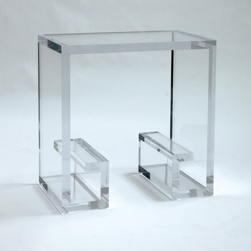 Chic Acrylic Coffee Table For Home Furniture With Clear Acrylic Coffee Table