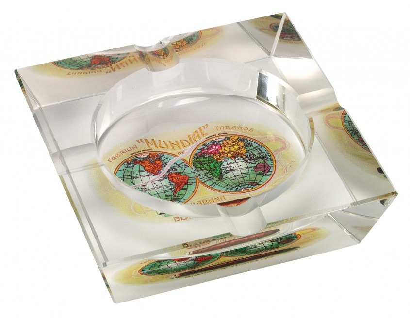 Chic Cigar Ashtray For Your Cigars With Crystal Cigar Ashtray
