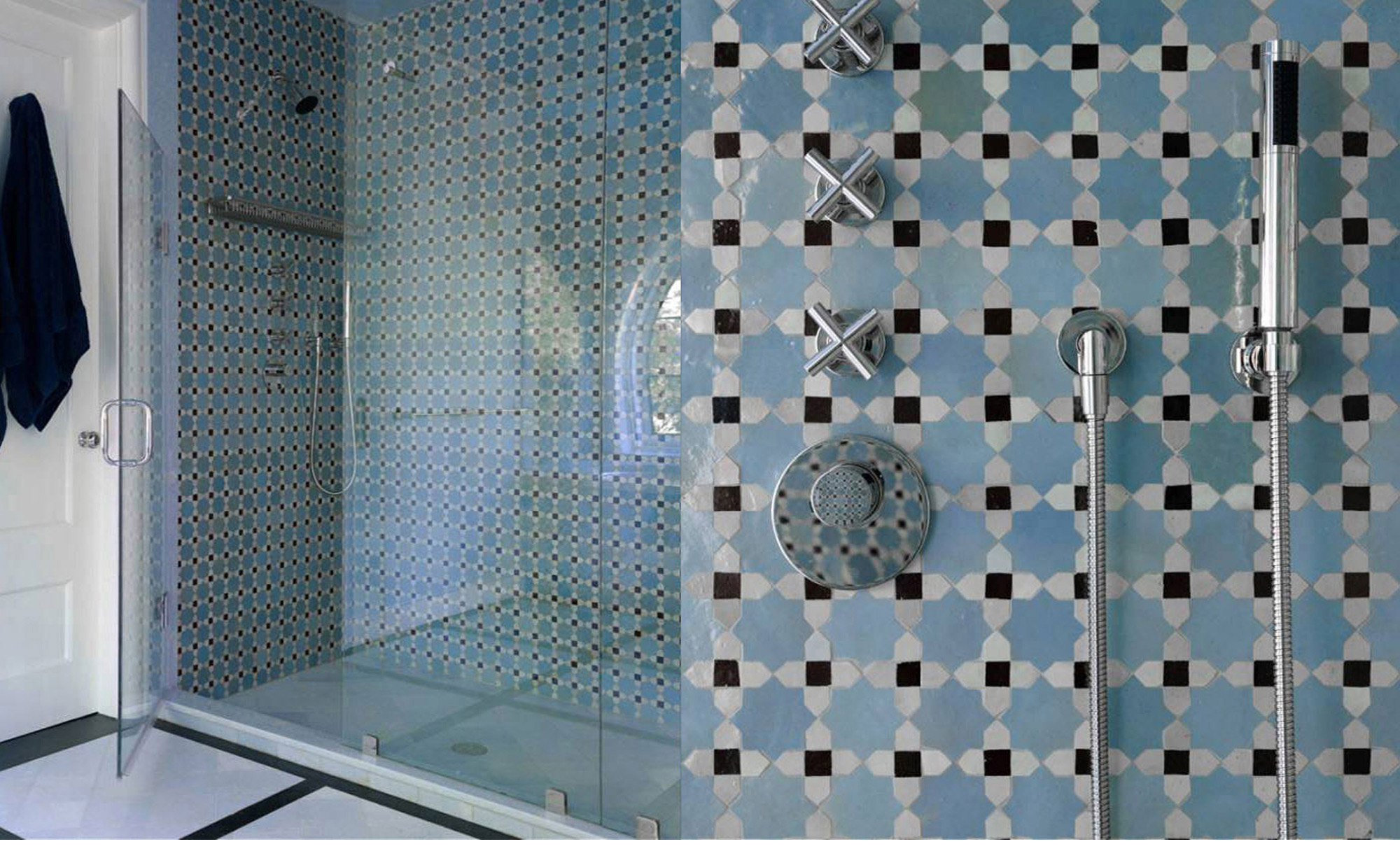 Chic moroccan tile for floor decor ideas with moroccan tile backsplash